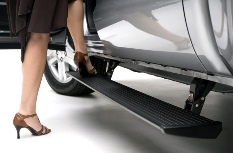PowerStep Electric Running Board - 07-21 Tundra Dble/Crw Cab, 2008-2017 Sequoia
